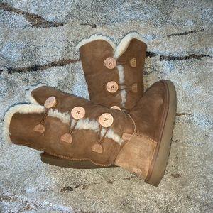 Ugg tall button up boots